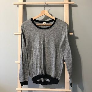 Aritzia Wilfred grey top size S